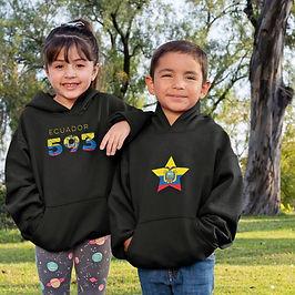 Ecuador Childrens Hoodie