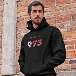 Bahrain 973 Mens Pullover Hoodie
