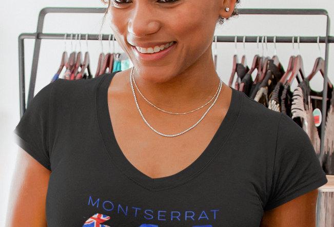 Montserrat Womens T-Shirt