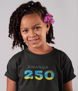 Rwanda 250 Childrens T-Shirt