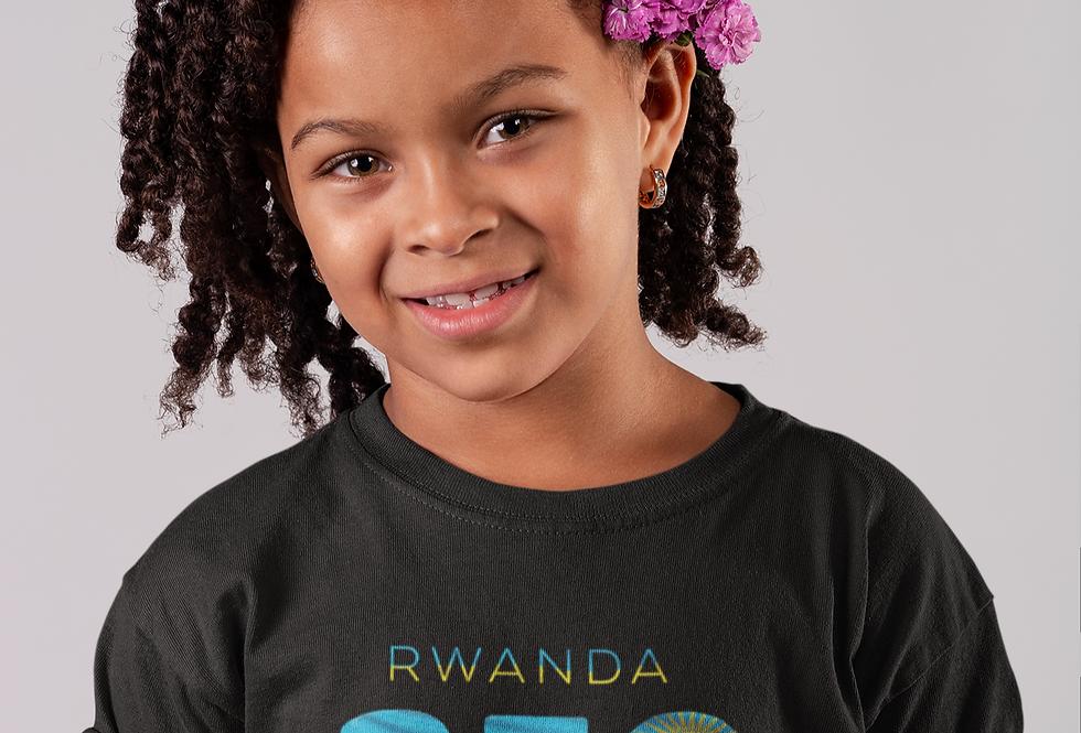 Childrens Rwanda Black T-Shirt