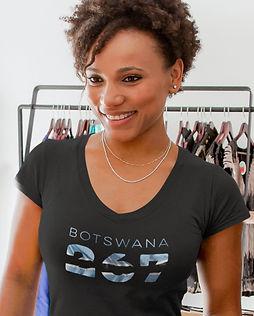 Botswana 267 Women's T-Shirt