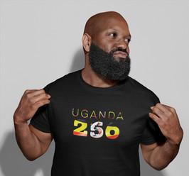 Uganda 256 Mens T-Shirt