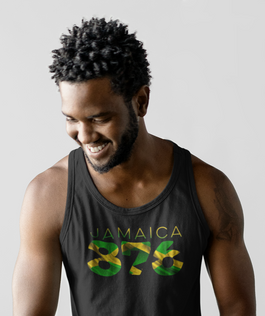 Jamaica 876 Mens Tank Top