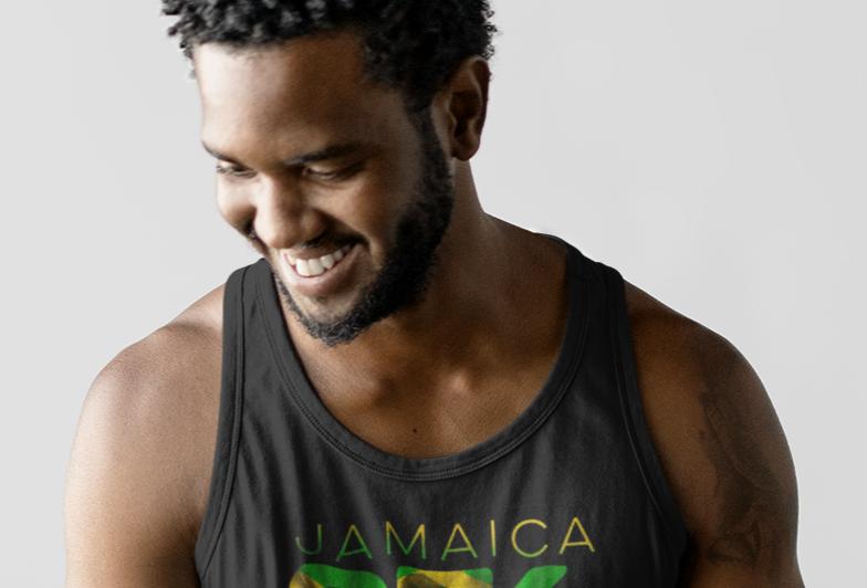 Jamaica Mens Tank Top Vest
