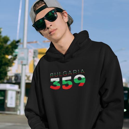Bulgaria 359 Mens Pullover Hoodie