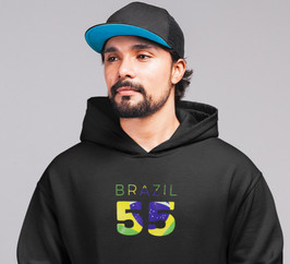Brazil 55 Men's Pullover Hoodie