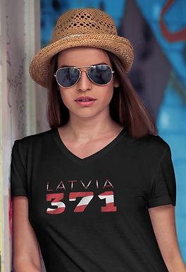 Latvia 371 Womens T-Shirt