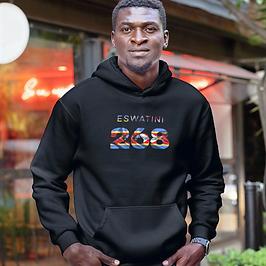 Eswatini 268 Men's Pullover Hoodie