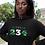 Nigeria Womens Black Hoodie