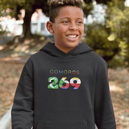 Comoros Childrens Hoodie