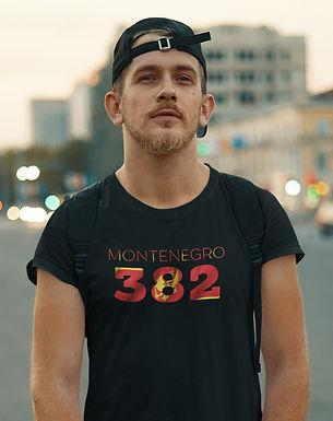 Montenegro 382 Mens T-Shirt