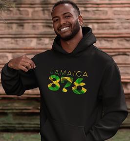Jamaica 876 Mens Pullover Hoodie