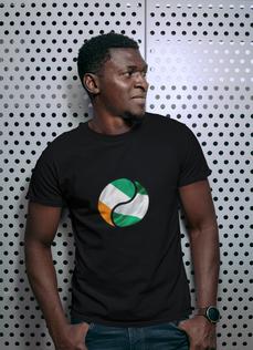 Cote d'Ivoire & Nigeria Dual Mens T-Shirt