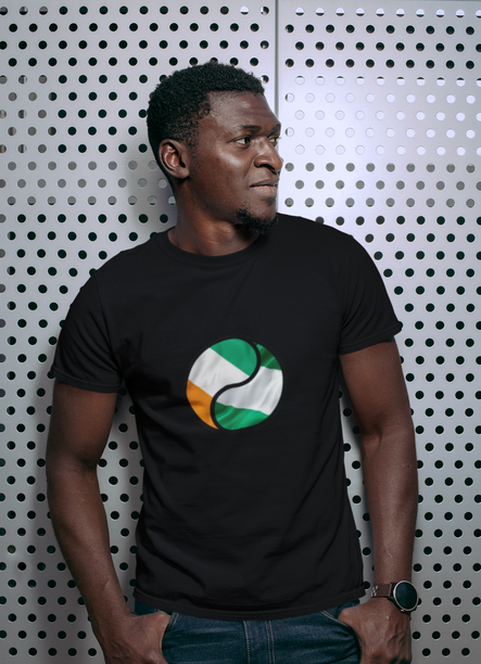 Cote d'ivoire and Nigeria Mens T-Shirt