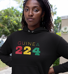Guinea 224 Womens Pullover Hoodie