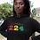 Guinea Womens Black Hoodie