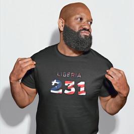 Liberia 231 Mens T-Shirt