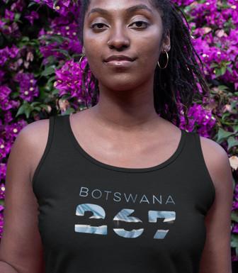 Botswana 267 Womens Vest