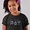 Childrens Black Botswana T-Shirt