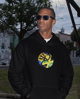Barbados & Jamaica Dual Mens Pullover Hoodie