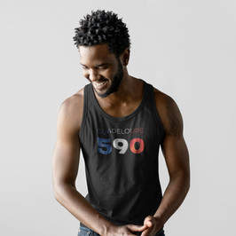 Guadeloupe 590 Mens Tank Top