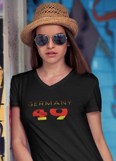 Germany 49 Womens T-Shirt