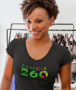 Zambia 260 Women's T-Shirt