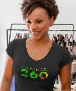 Zambia 260 Women's T-Shirt