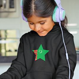 Turkmenistan Childrens Hoodie