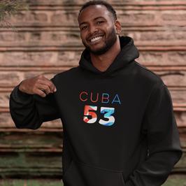 Cuba 53 Mens Pullover Hoodie