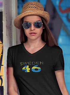 Sweden 46 Womens T-Shirt
