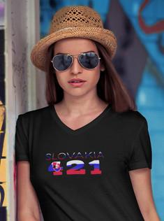Slovakia 421 Womens T-Shirt