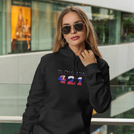 Slovakia 421 Womens Pullover Hoodie