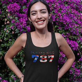 Puerto Rico 787 Womens Vest