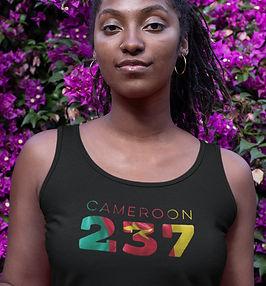 Cameroon 237 Womens Vest