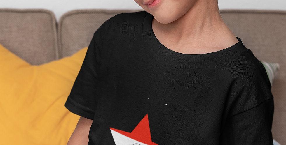 Childrens Paraguay Black T-Shirt