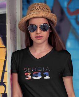 Serbia 381 Womens T-Shirt