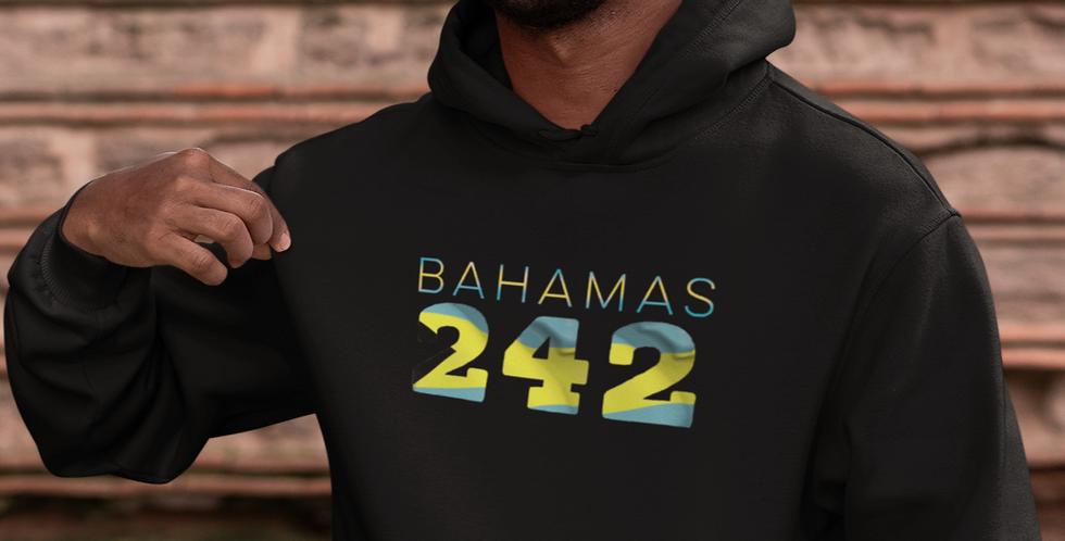 Bahamas Mens Pullover Hoodie