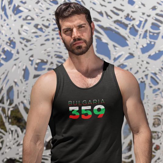 Bulgaria 359 Mens Tank Top