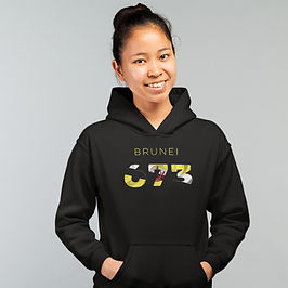 Brunei 673 Womens Pullover Hoodie