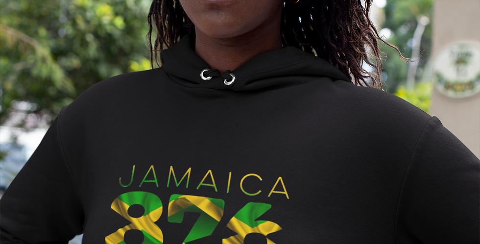 Jamaica Womens Pullover Hoodie