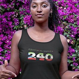 Equatorial Guinea 240 Womens Vest