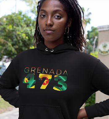 Grenada 473 Womens Pullover Hoodie