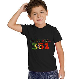 Portugal Childrens T-Shirt