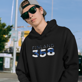 Finland 358 Mens Pullover Hoodie