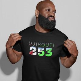 Djibouti 253 Mens T-Shirt