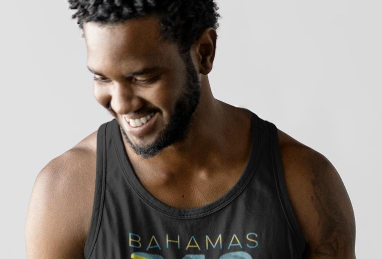 Bahamas Mens Tank Top Vest