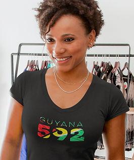 Guyana 592 Womens T-Shirt