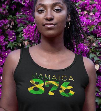 Jamaica 876 Womens Vest